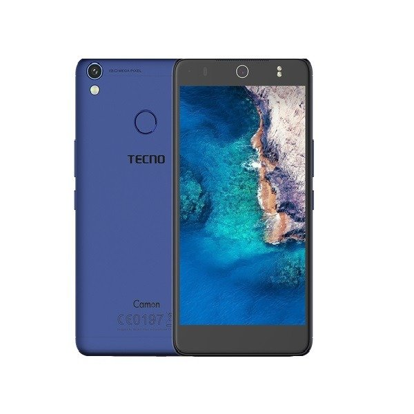 "Tecno Camon CX 5.0"" Full HD 1GB RAM+16GB 13MP Camera Dual Sim Smartphone  - Blue"