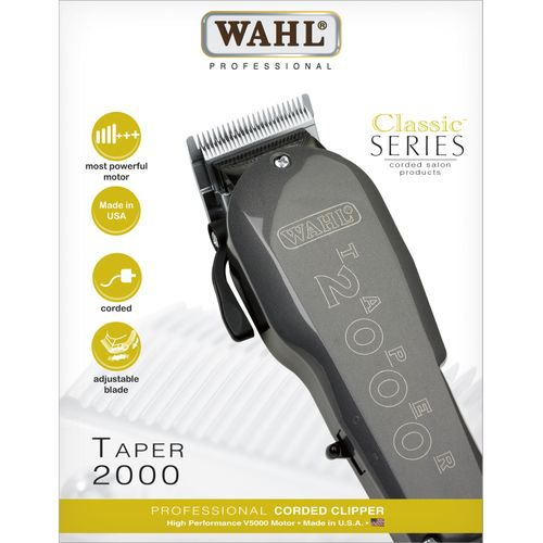 Wahl Taper 2000 Clipper - Black