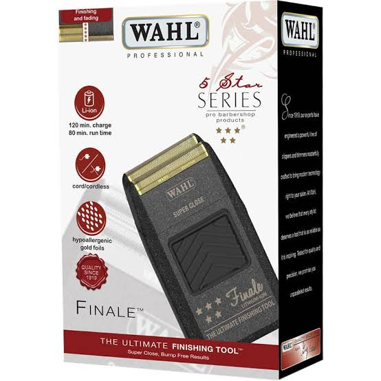 Wahl 5 Star Series Finale Shaver & Smoother