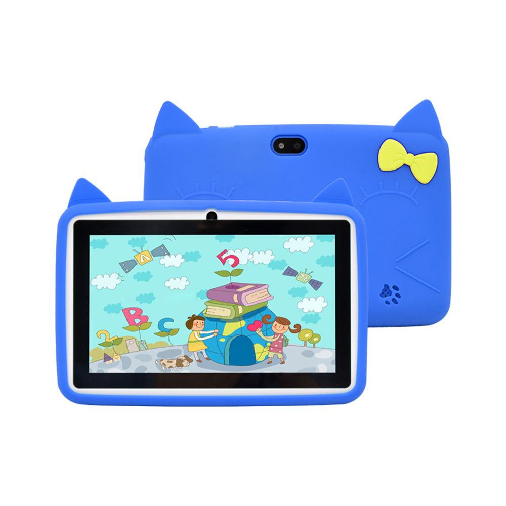 Wintouch K75 Kid's Educational Tablet PC - 7 Inch, 8GB, 512MB RAM, Wi-Fi - Blue