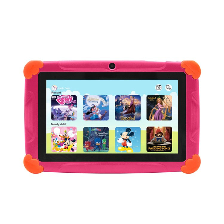 Wintouch K77 7 inch Kid's Android Educational Tablet PC- Pink