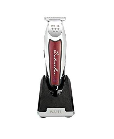 Wahl Classic Series Cordless Detailer Li Trimmer - Silver,Red
