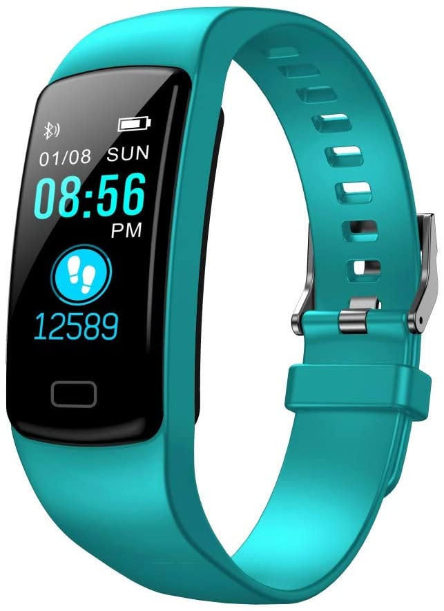 Y9 Smart Fitness Bracelet Sports Activity Heart Rate Tracker Blood Pressure Watch - Mint Green
