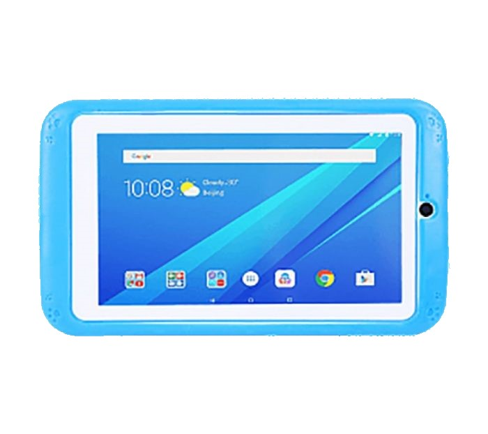 K89 Atouch 7-Inch 1GB RAM +16GB Android 6.0 Kid's Tablet PC + Proof Case - Blue