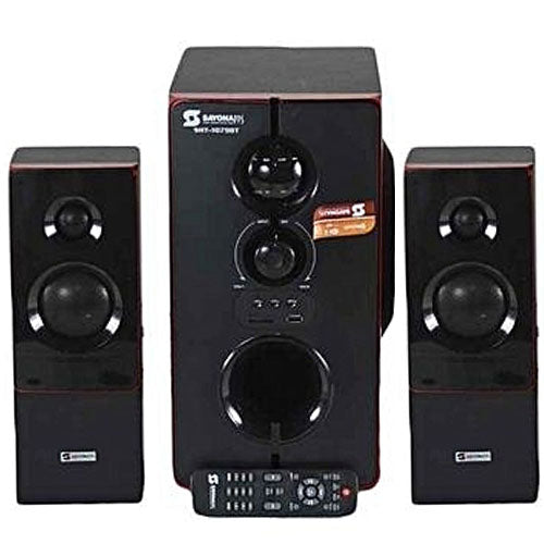 Sayona SHT-1079BT 2.1 Channel 10000W PMPO Subwoofer - Black