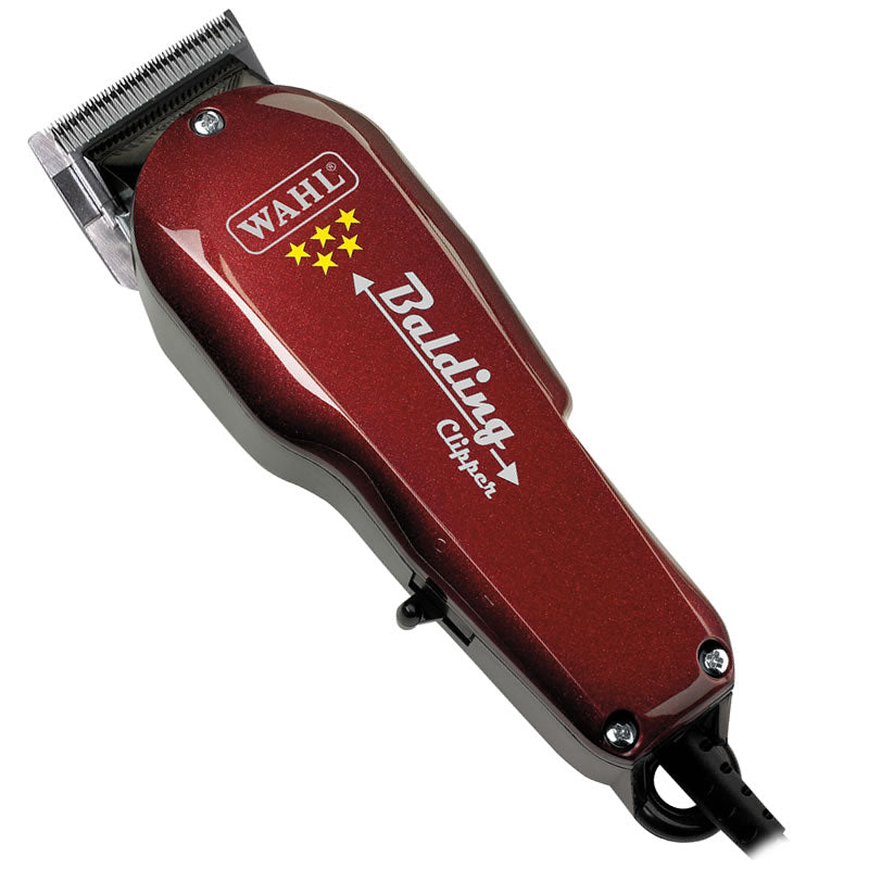 Wahl Professional 5-Star Balding Clipper - Red