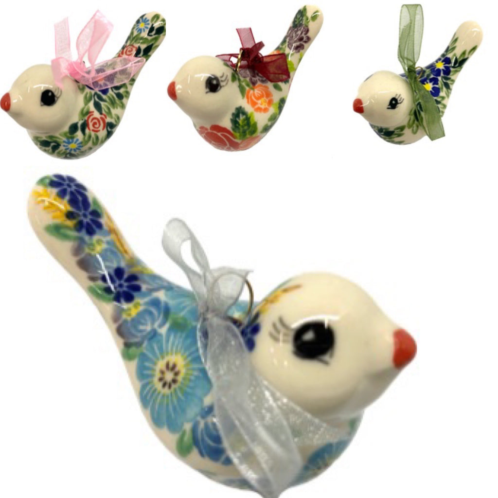 Unikat Bird Ornaments, Variety of Patterns