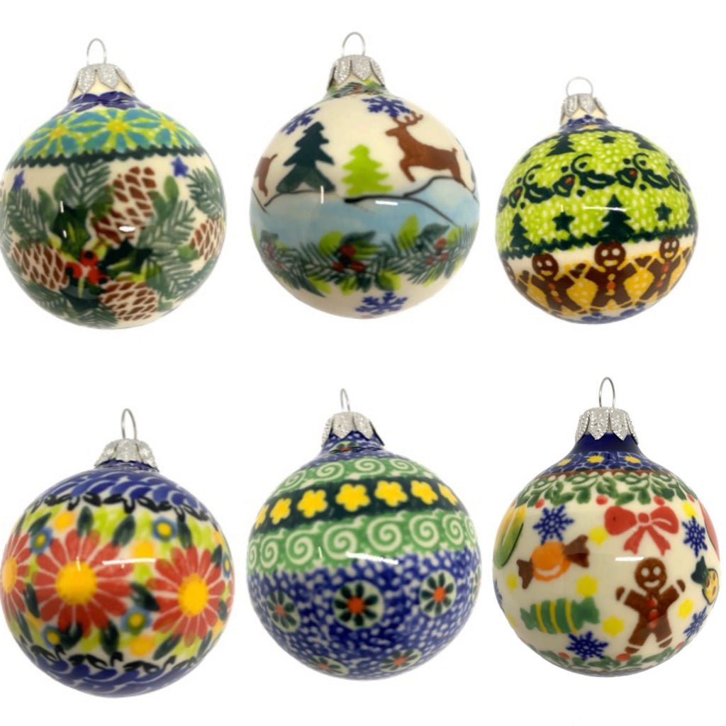 Unikat Christmas Ball Ornaments, Variety of Patterns