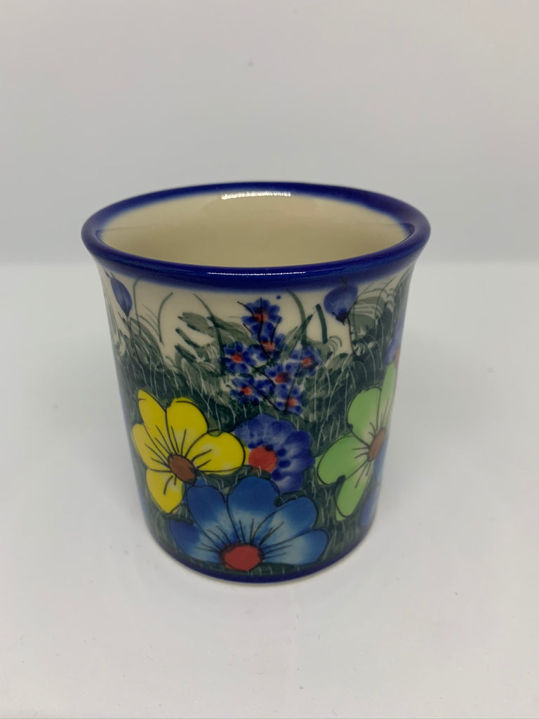 8 oz Unikat Straight Mug, Daisy Meadow