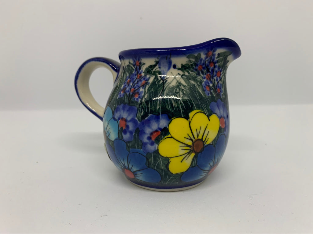 5 oz Unikat Cream Pitcher, Daisy Meadow