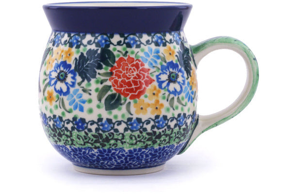 12oz Unikat Bubble Mug, Hummingbird Meadow