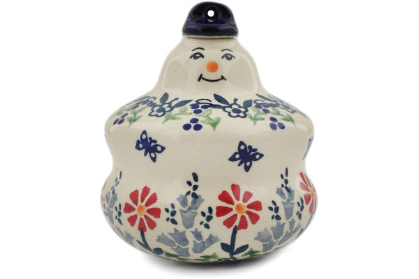 Snowman Snowball Ornaments, Variety of Patterns