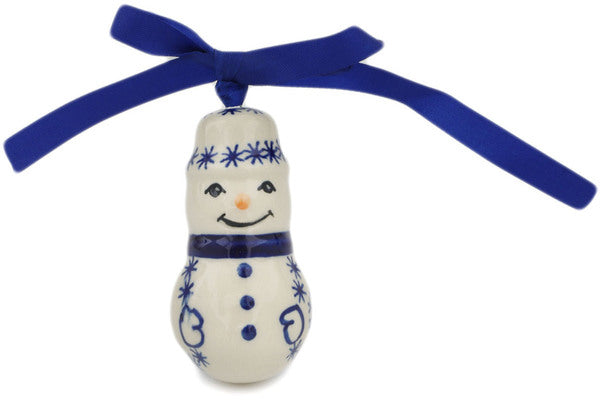 Snowman Ornaments, Variety of Patterns