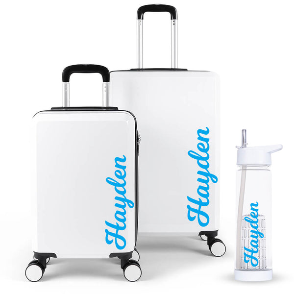 Artist Edition Luggage Suitcase Set - Personalised Island