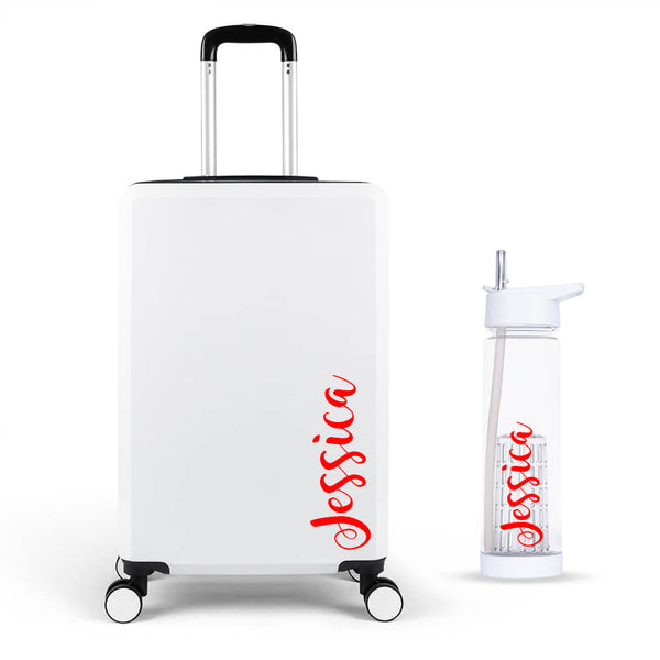 Fancy Edition Large Suitcase - Personalised Island