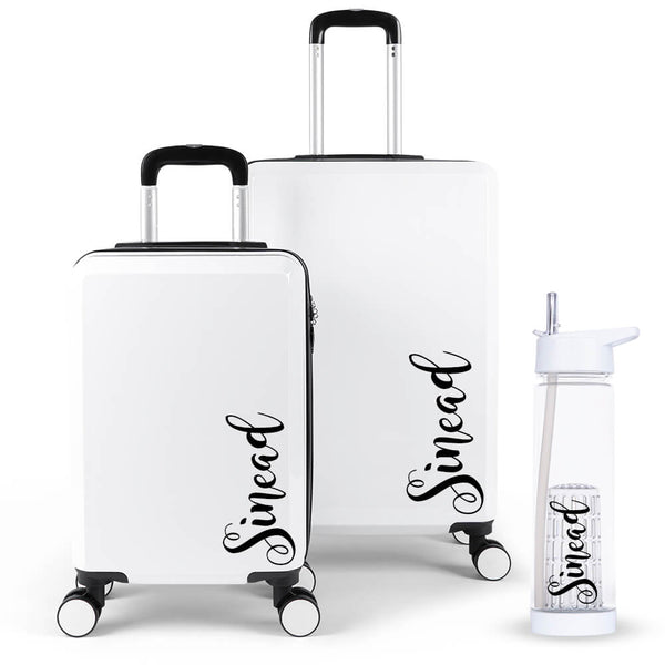Fancy Edition Luggage Suitcase Set - Personalised Island