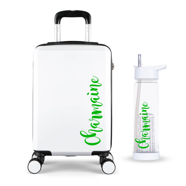 Fancy Edition Cabin Suitcase - Personalised Island