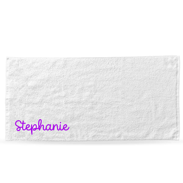 Handwritten Edition Bath/Beach Towel - Personalised Island