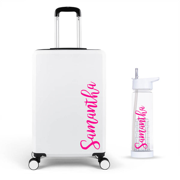 Hinch Edition Large Suitcase - Personalised Island