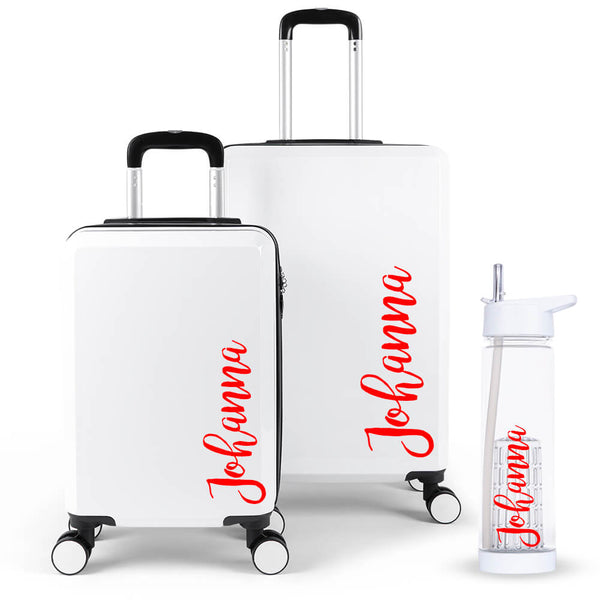 Hinch Edition Luggage Suitcase Set - Personalised Island
