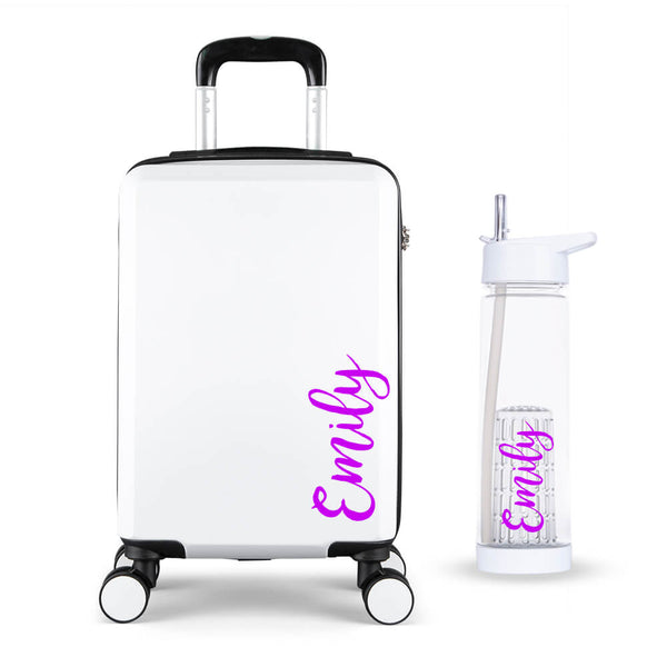 Mrs Hinch Edition Cabin Suitcase - Personalised Island