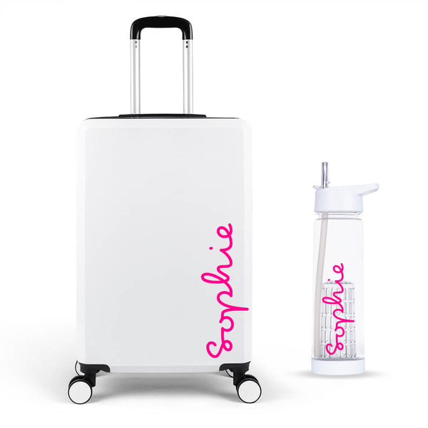 Personalised Edition Large Suitcase - Personalised Island