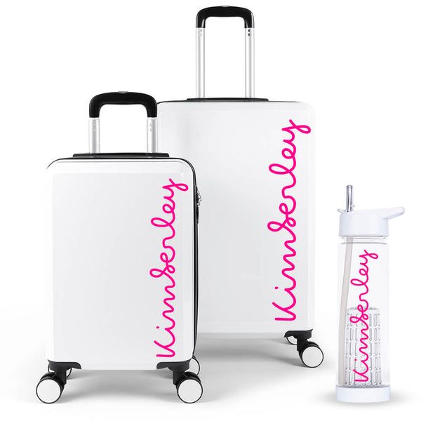 Personalised Edition Luggage Suitcase Set - Personalised Island