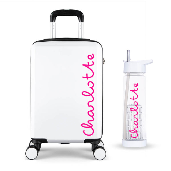 Personalised Edition Cabin Suitcase - Personalised Island
