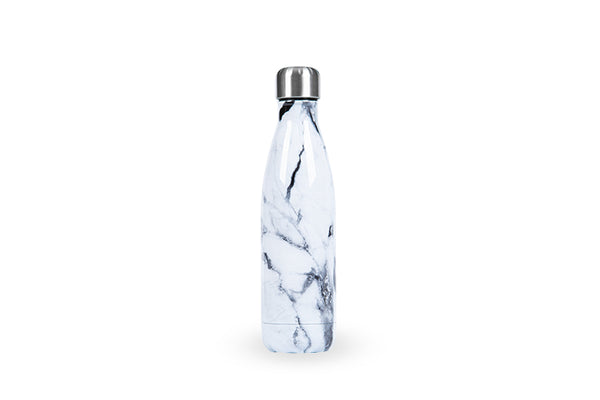 Marble Stainless Steel Bottle (500ml) - Personalised Island