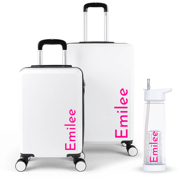 Simple Edition Luggage Suitcase Set - Personalised Island