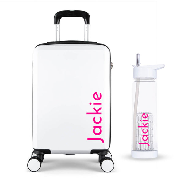 Simple Edition Cabin Suitcase - Personalised Island