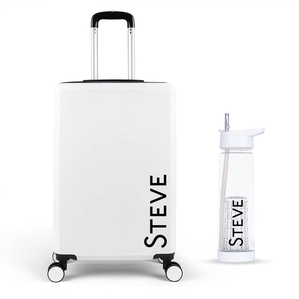 Urban Edition Large Suitcase - Personalised Island