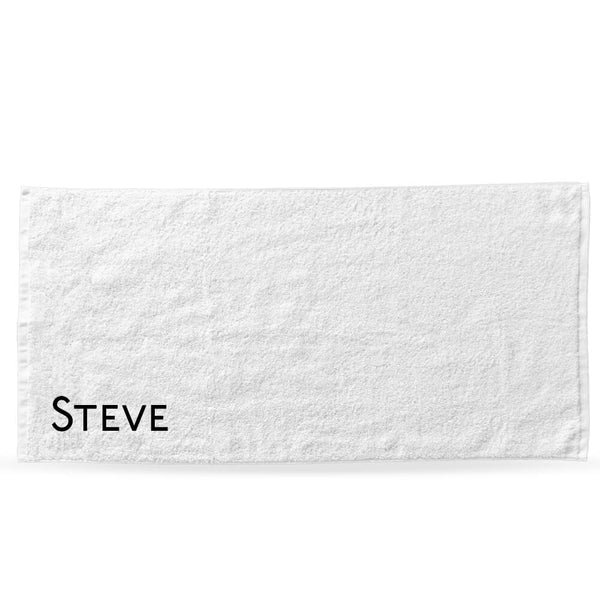 Urban Edition Bath/Beach Towel - Personalised Island