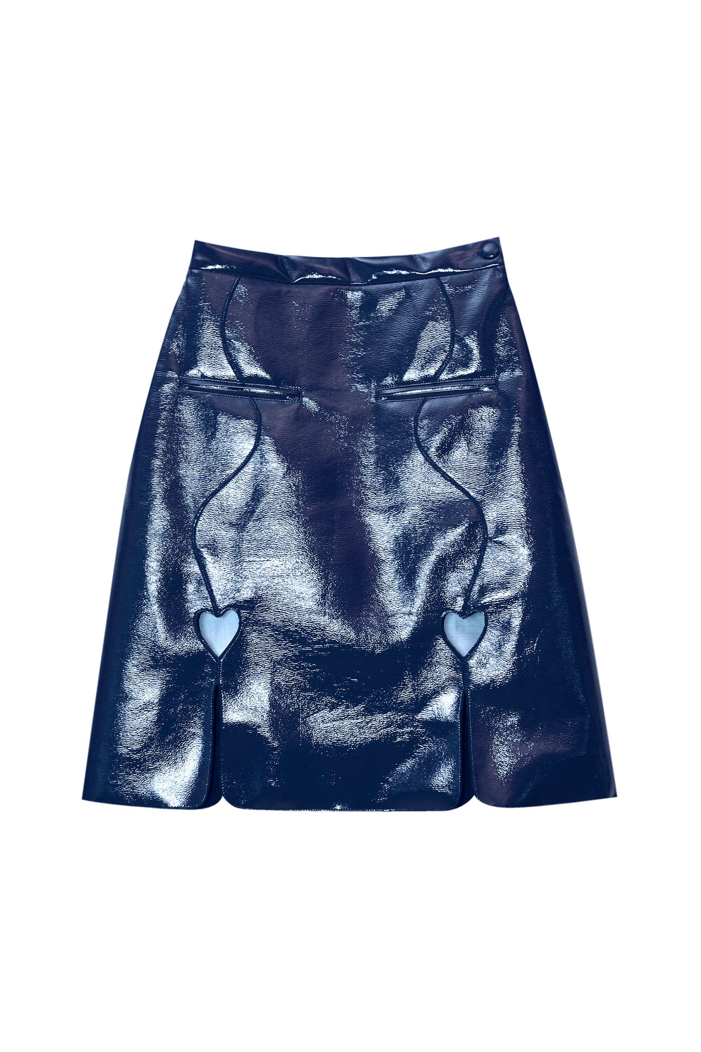Faux Leather Skirt (pre-order)
