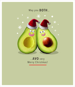 May you both AVO very merry Christmas