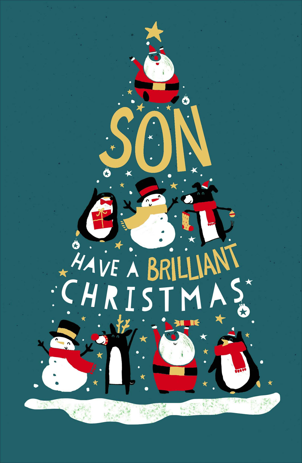 Son Have a brilliant Christmas
