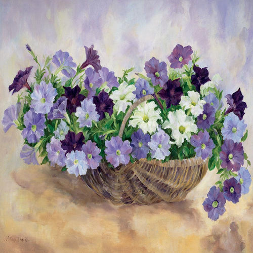 Pansies in Basket