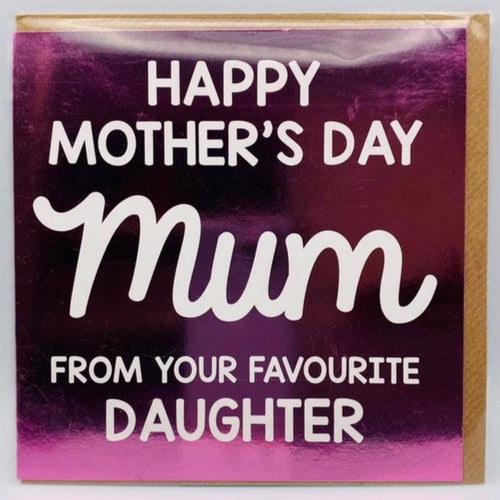 From your favourite Daughter