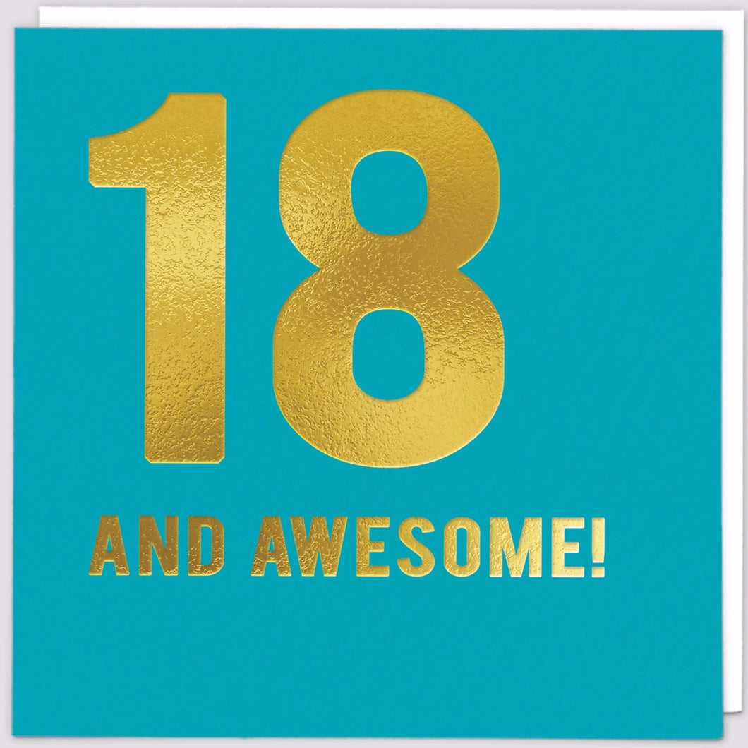 18 & Awesome