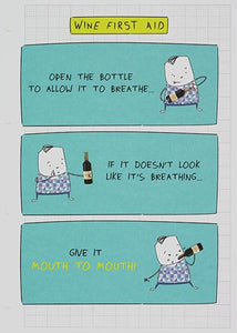 WINE FIRST AID