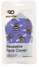 Load image into Gallery viewer, Face Cover  - Blue Bee