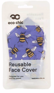 Face Cover  - Blue Bee