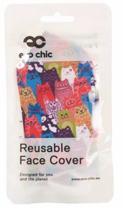 Face Cover - Stacking Cats