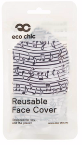 Face Cover - Musical Notes