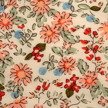 Load image into Gallery viewer, Cotton Face Mask:Cream Floral