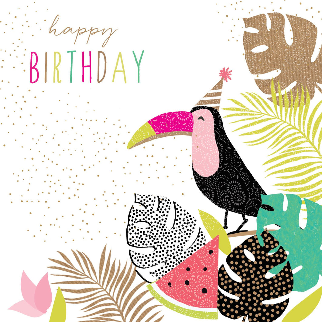 Birthday Toucan