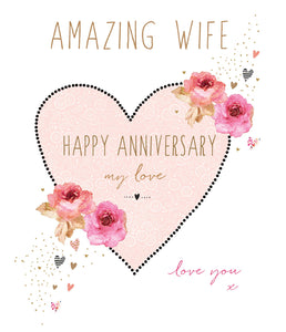 Amazing Anniversary Wife