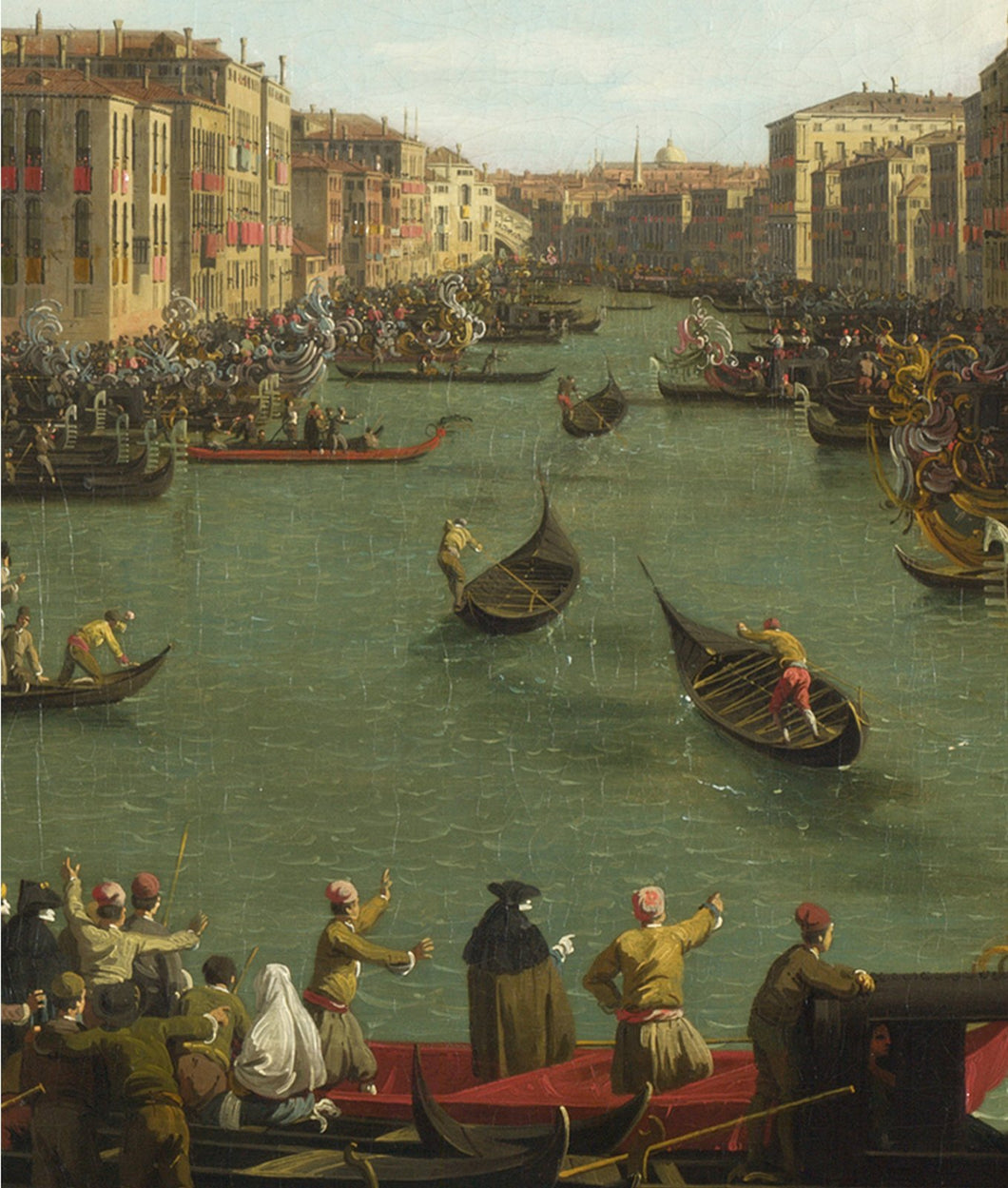 Canaletto / Regatta on the Grand Canal