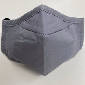 Cotton Face Cover - Grey