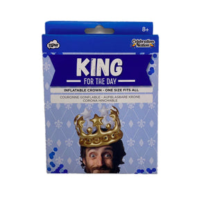 King for a Day Inflatable Crown